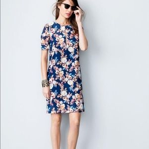 Antique Floral Shift Dress